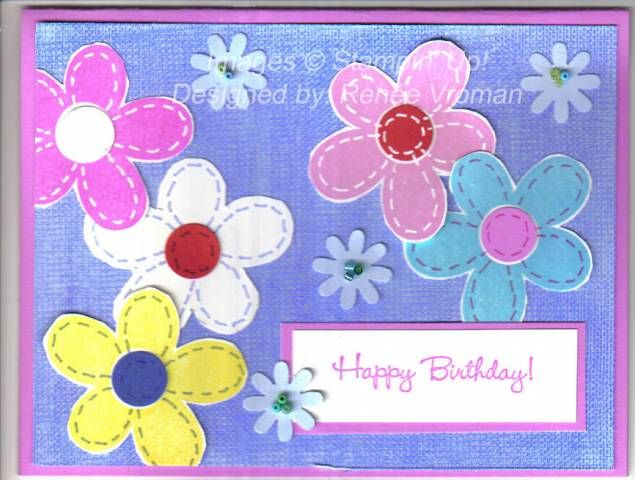 Stitched Love Without End Birthday