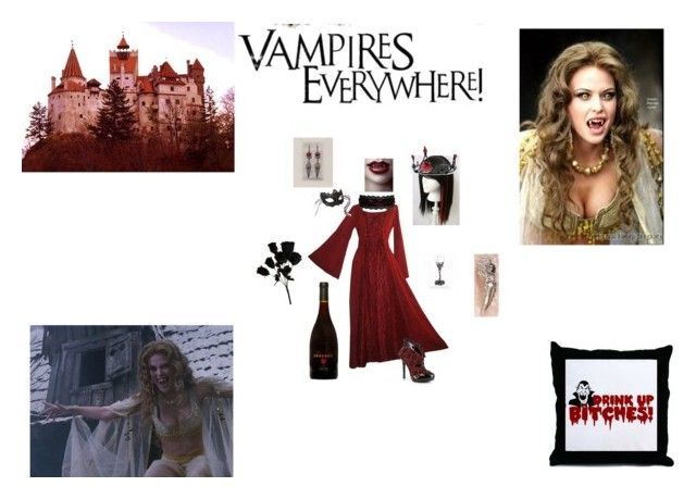 """Vampires Everywhere!!!!"" by yummymummy-2014 ❤ liked on Polyvore featuring Forum and Masquerade"