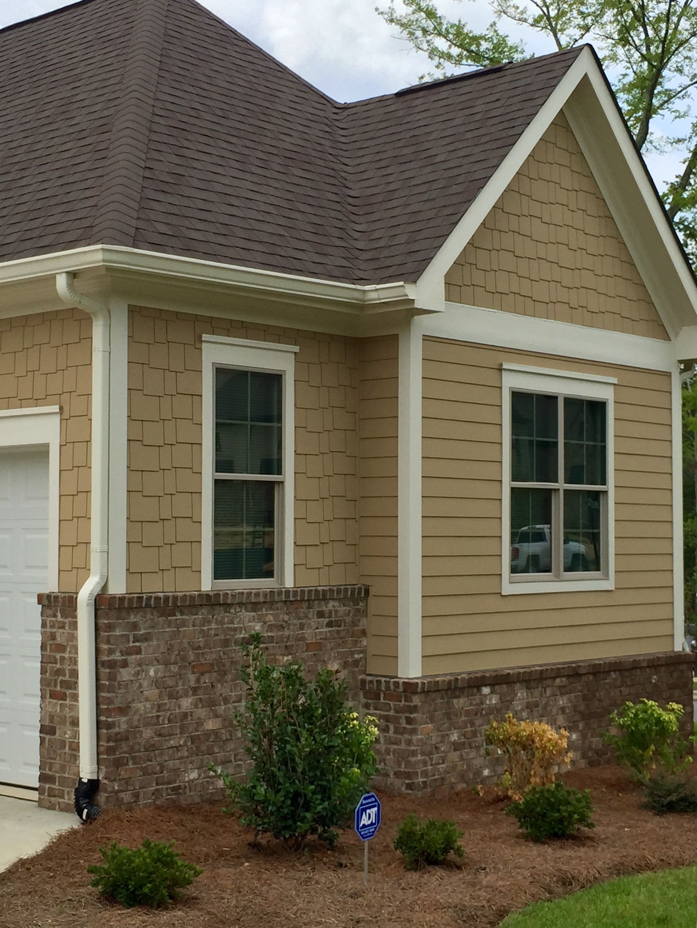 Exterior Window Trim Brick arh exterior ashland plan (exterior 48) roof: oc oakridge teak