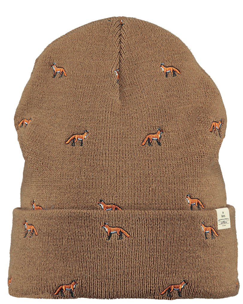 detailed look 2c3f0 1b1f6 The Barts Vinson beanie is made of fine rib knit and features a cool shape  and turn-up.