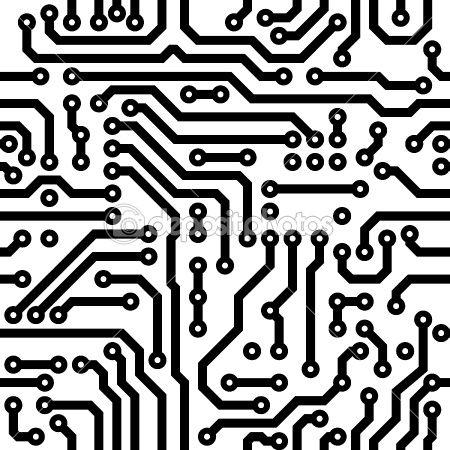 33++ Circuit board pattern clipart info