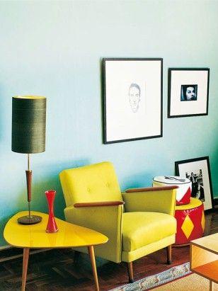 50er Jahre Möbel Mehr 60s Retro room, Retro chic und DIY Home Decor