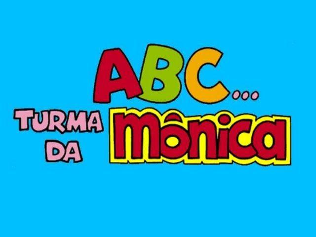 Novo Alfabeto Da Turma Da Monica Lindooo Turma Da Monica