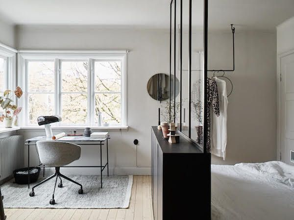 Small space inspiration from the home of a swedish for Interior design appartamenti