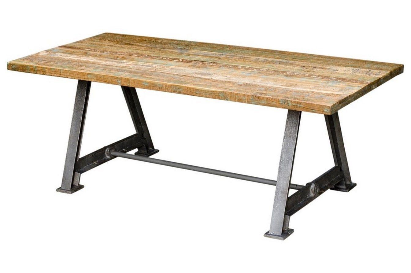 Tisch Industrial tisch coloured m eisengestell industrial home home