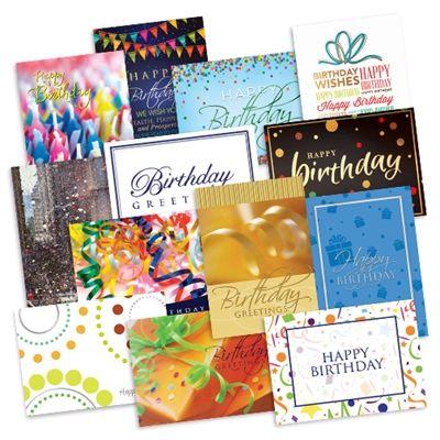 Coporate Birthday Card Variety Pack Wall Street Greetings