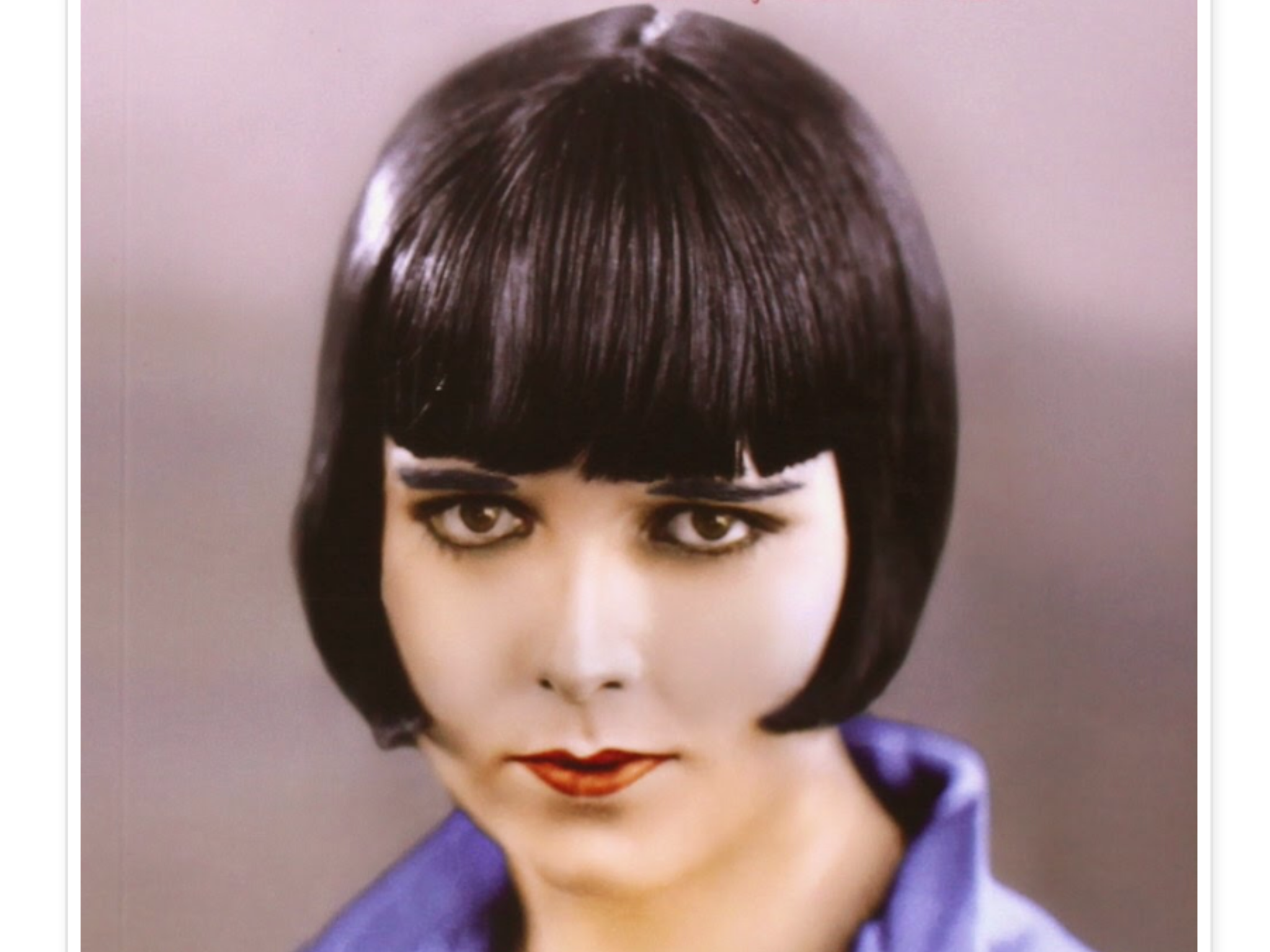 Louise Brooks color mid 1920 s Louise Brooks Pinterest