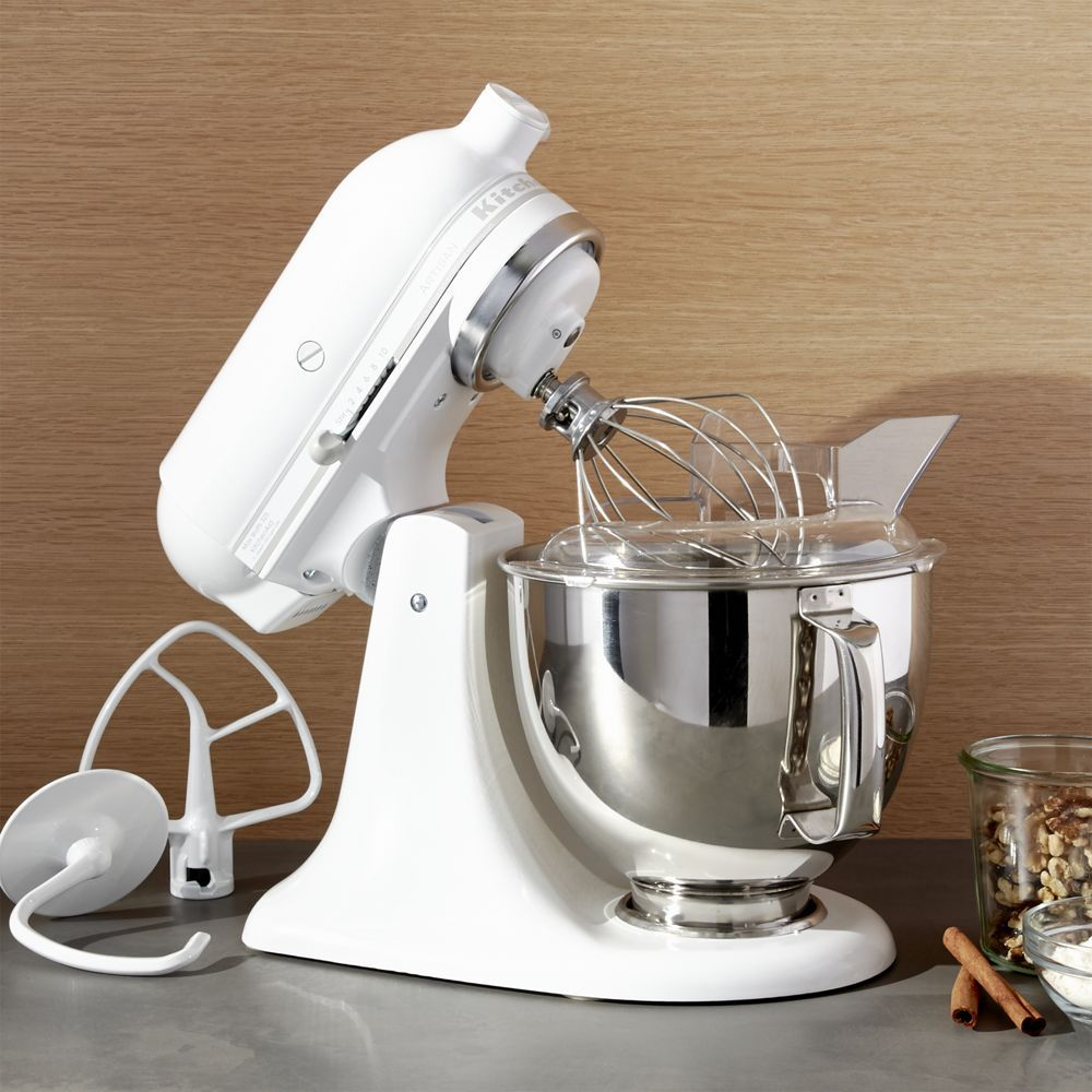 White Kitchenaid Mixer Cover
