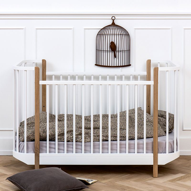 Oliver Furniture Bett Babybett Kinderbett Wood Collection Eiche