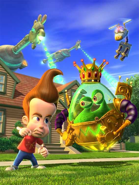 Jntv Jn Goobot Eggpire Strikes Back Jpg 566 756 Jimmy Neutron Cartoon Nickelodeon