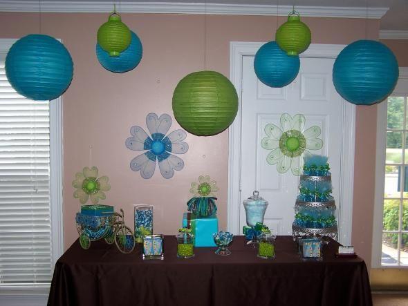 Chocolate And Teal Wedding Reception: Wedding Candy Buffet Photos : Wedding Blue Brown Diy Green