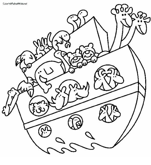 noahs ark coloring pages - Noahs Ark Coloring Pages Kids