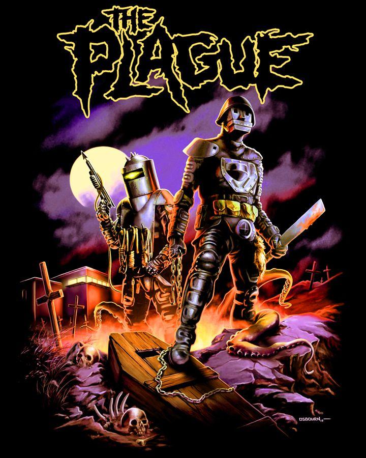 80/'s Horror Classic Hard Rock Zombies Poster Art custom tee Any Size Any Color