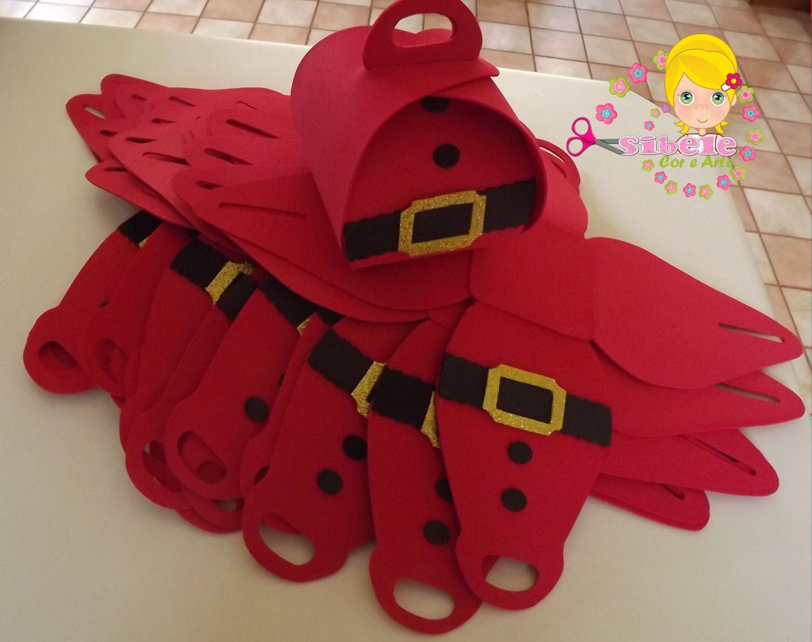 Mas en goma eva adornos navida goma eva share the post for Manualidades souvenirs navidenos