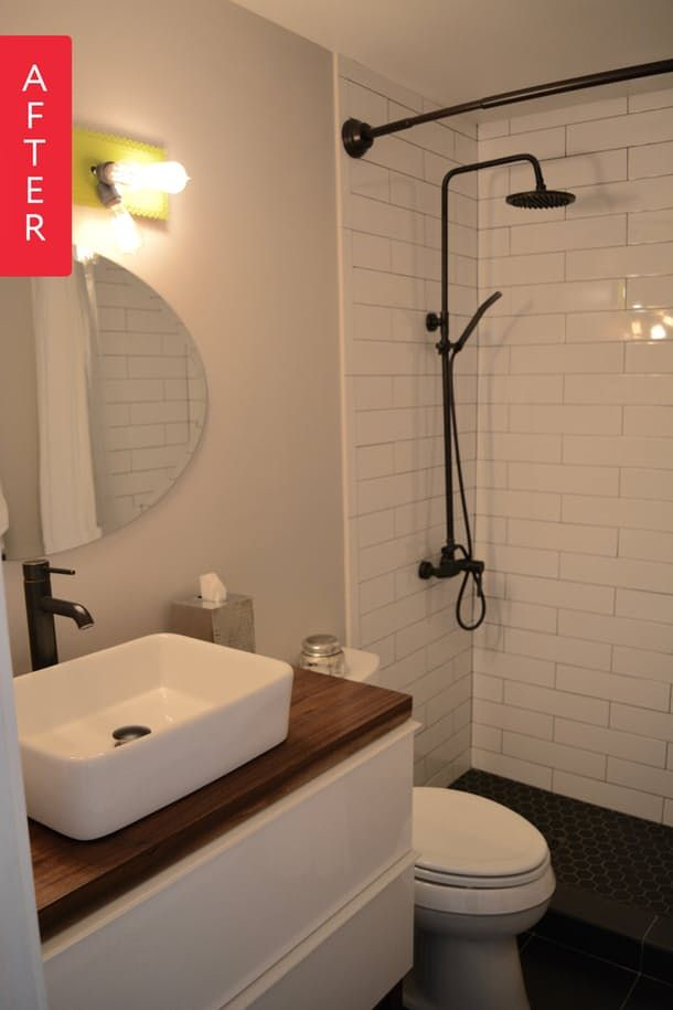 Beautiful Building Bathroom In Basement