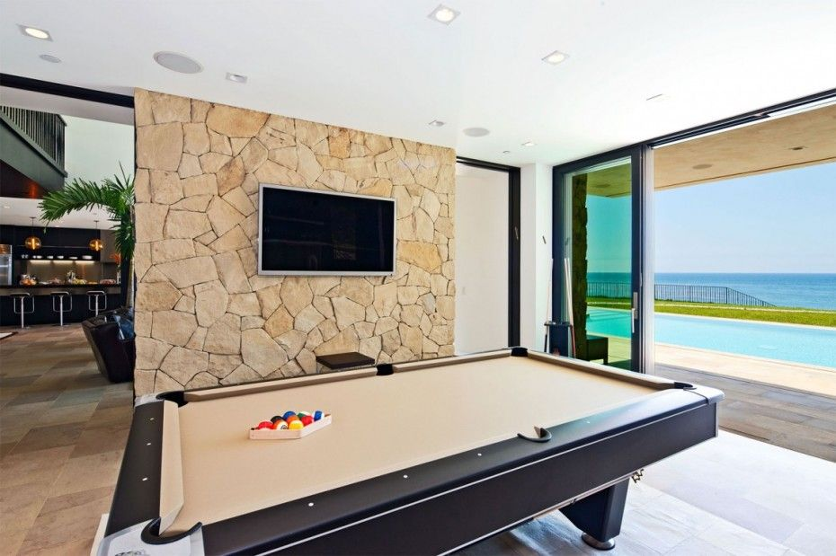Investing in a Multi-Million Stony House in Malibu: Playground Area In Multi Million Dollar House