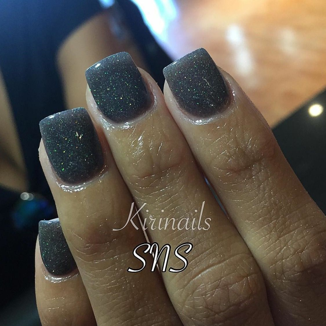 Black with glitter sns dipping powder nails at angel nail spa 2 black with glitter sns dipping powder nails at angel nail spa 2 prinsesfo Image collections