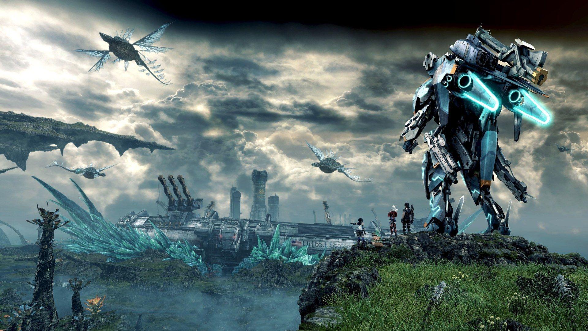 Xenoblade Chronicles X Wallpaper Juego De Rol Juegos Y