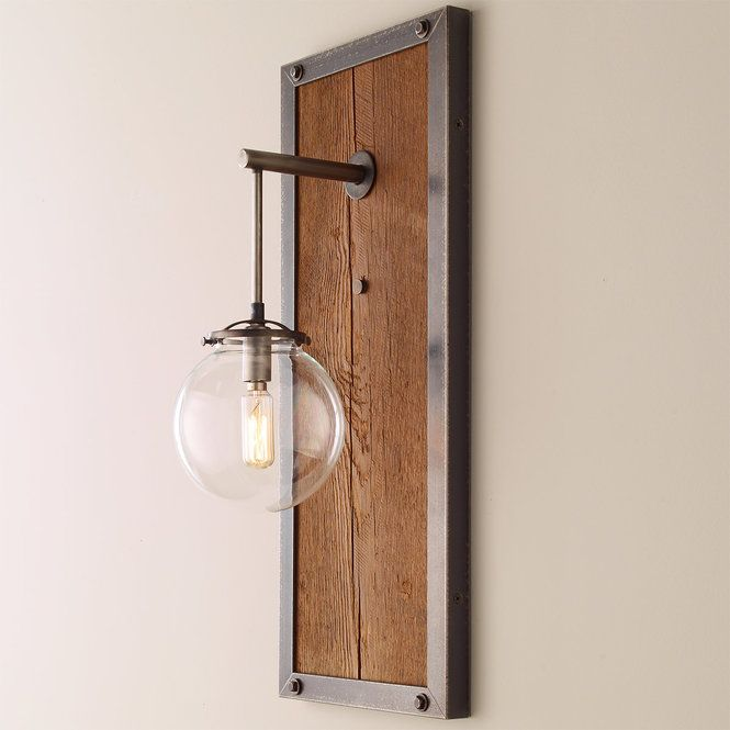 Umanoff Collection Rectangular Industrial Sconce Large Industrial Sconce Rustic Wall Sconces Rustic Wall Lighting