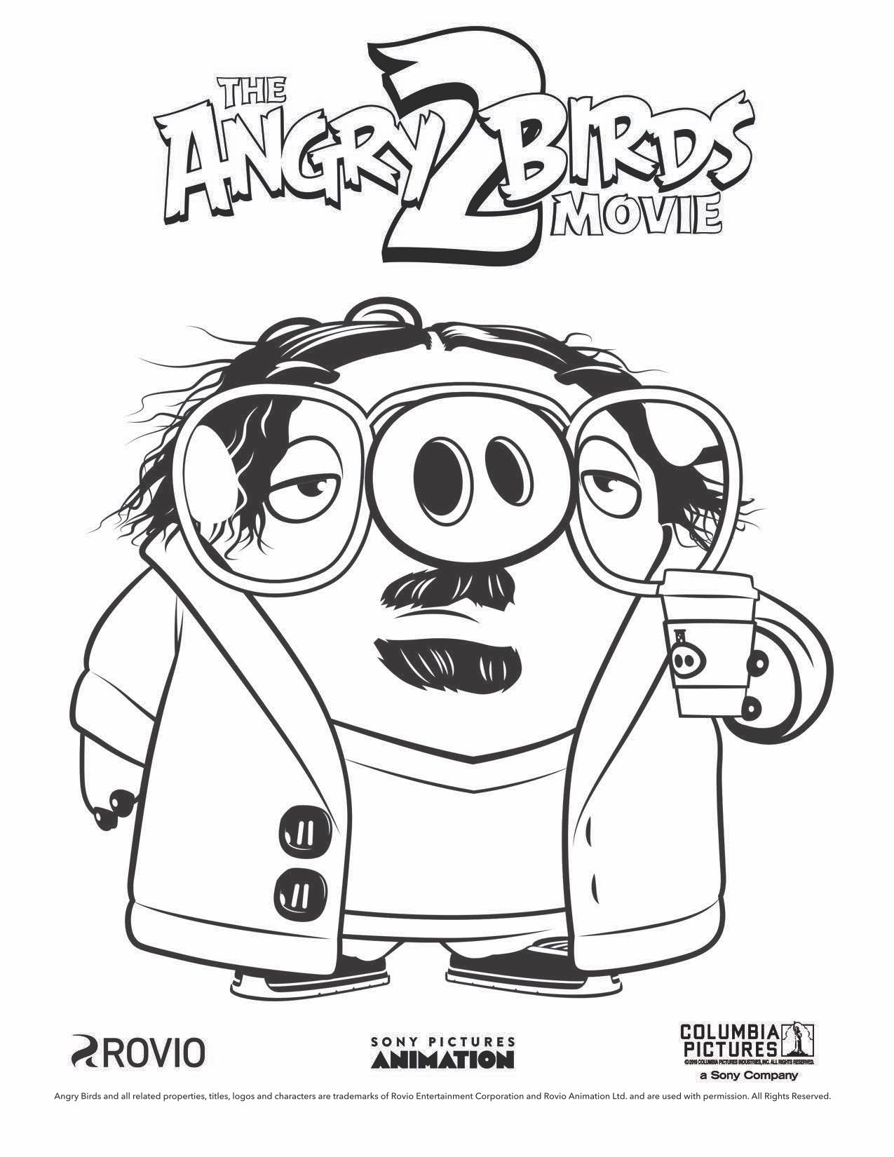 The Angry Birds Movie 2 Garry Coloring Page Bird Coloring Pages Cartoon Coloring Pages Christmas Coloring Pages