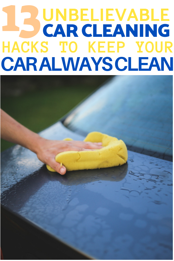 18 Car Cleaning Tips and Tricks To Keep Your Car Sparkling
