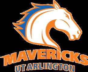 Texas Arlington Mavericks Football Arlington College Logo Mavericks Logo