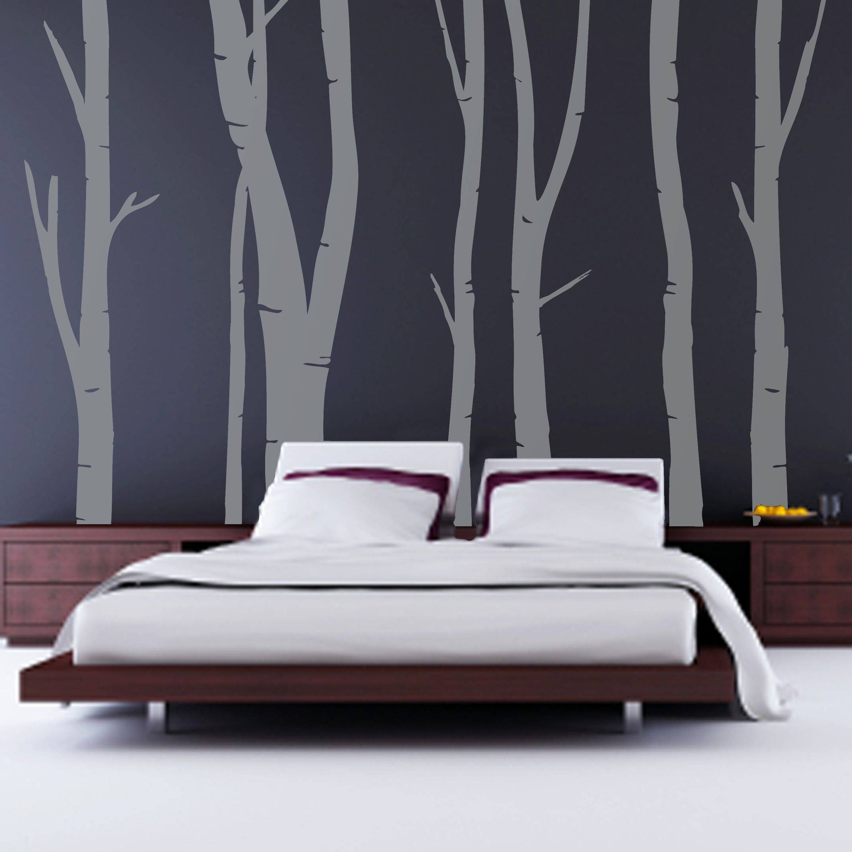 Fantastic trees pictures wallpaper and cool wooden low for Cool bedroom wallpaper