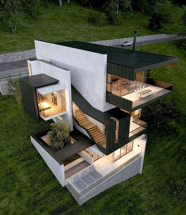 20 Best of Minimalist House Designs [Simple, Unique, and Modern] #beautifularchitecture