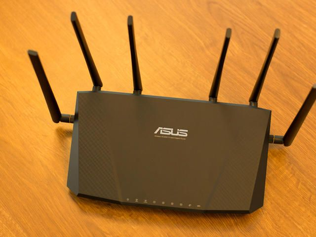 ASUS RT AC3200 Tri band Gigabit Router