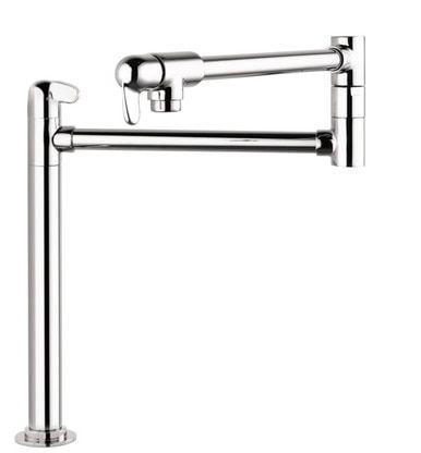 Hansgrohe 04060860 Allegro E Pot Filler Deck Mounted Pot Filler Hansgrohe Pot Filler Faucet