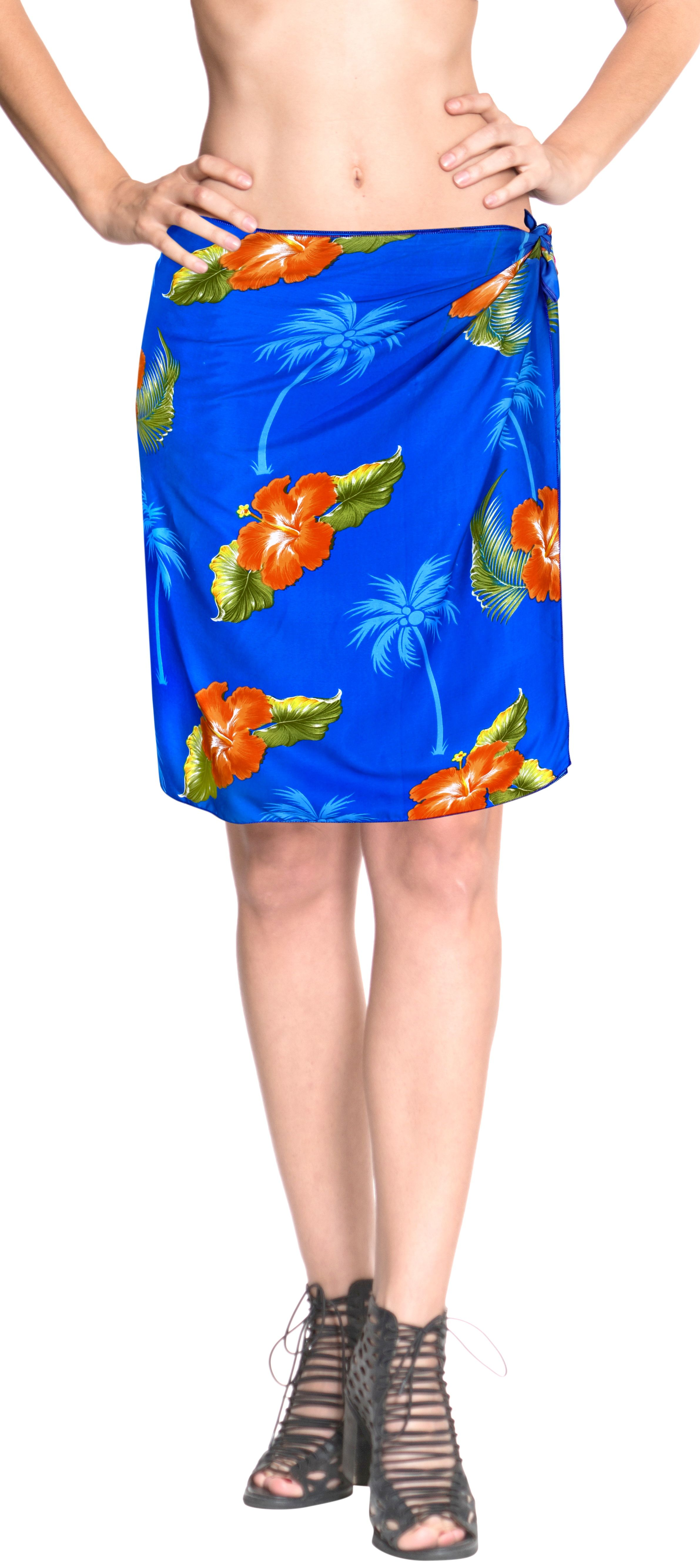 a37489f847 LA LEELA Women's Beachwear Bathing Mini Sarong Bikini Cover up Wrap Dress 8# Beachwear, #Bathing, #Women