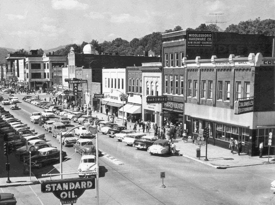 Downtown Middlesboro Ky Kentucky Travel Middlesboro