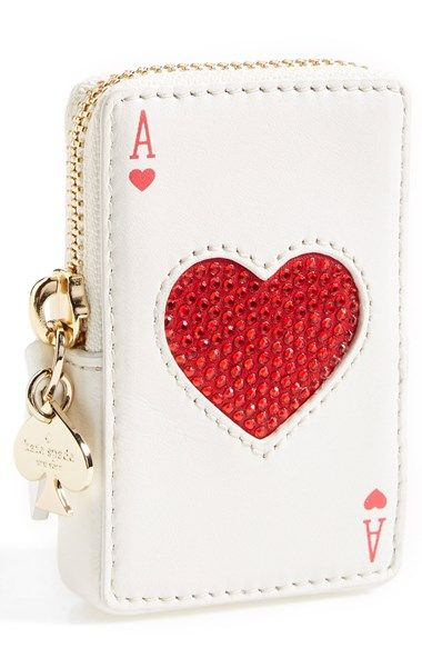 4ebbfab41450 Free shipping and returns on kate spade new york kate spade  place your  bets  card coin purse at Nordstrom.com. You ve got to play the hand you re  dealt