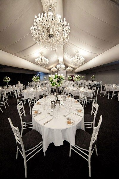 Victoira Park Golf Complex Function Room The Marquee Wedding