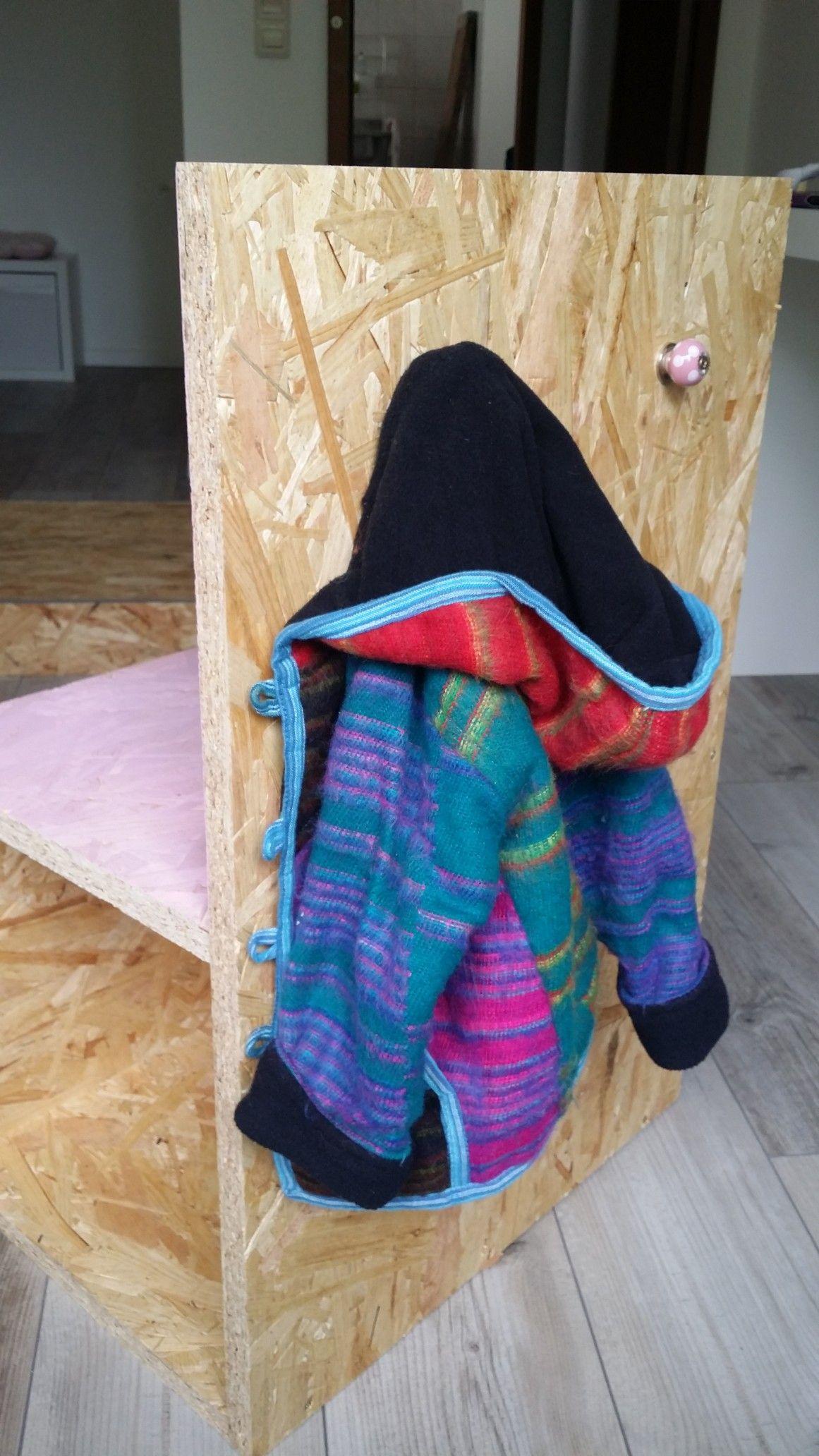 Döppken Raumpiraterie Kindergarderobe Diy Rosagrau Holz Selberbauen Möbel Aufbewahrung Holzarbeiten