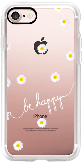 HAPPY DAISY iPhone6 TRANSPARENT CASE in 2020 (With images