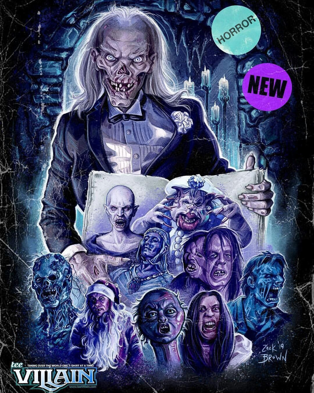 Tales From The Crypt Horror Movie Icons Horror Movie Art Movie