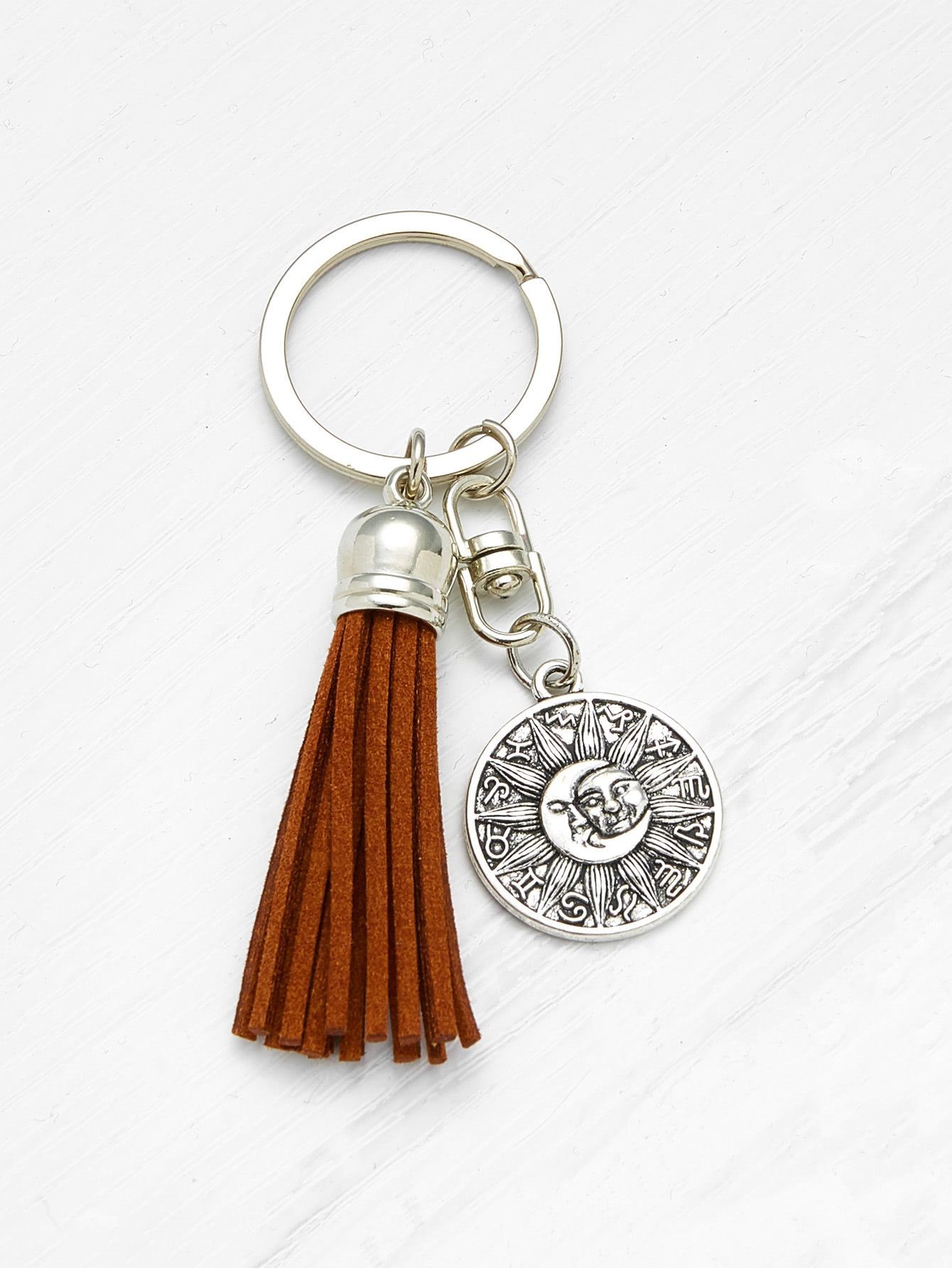26cedc9045 Shop Tassel Decorated Keychain online. SheIn offers Tassel Decorated  Keychain & more to fit your fashionable needs.