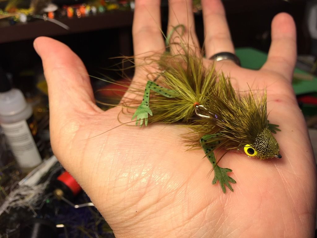 April Flies from the Vise Types of fish, Worm hook