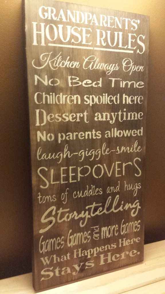 christmas gifts a grandparent house rules