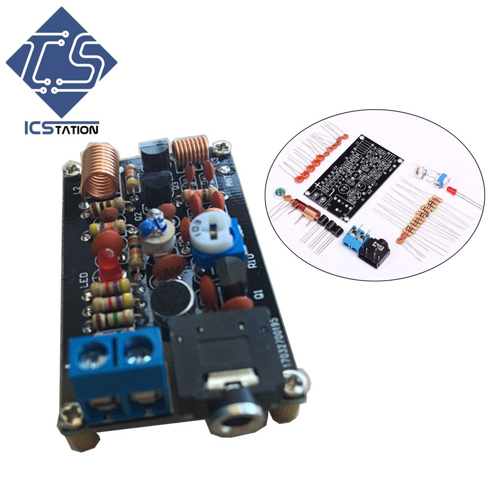 Click To Buy Fm Wireless Transmitter Diy Kit Tfm009 Radio Dc Low Power Circuit