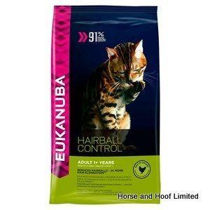 Eukanuba Adult Hairball Cat Food 2kg The Vital Health System Of
