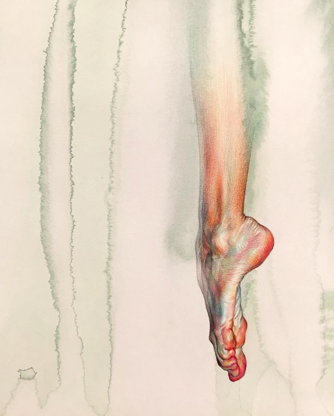 Fine Artist: WanJin GIM (@willeys_art)   Art - Anatomy : Feet 2 ...