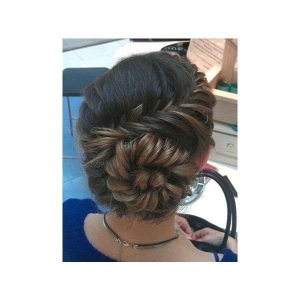 Amazing The Conch Shell Braid!u2014Get The How To! ❤ Liked On Polyvore Featuring  Accessories, Hair Accessories, Hair, Hairstyles, Cabelos, Beauty And Braid