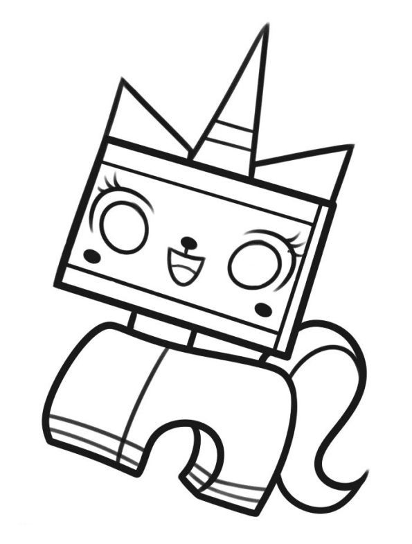 coloring page Lego Movie - Lego Movie | Adult Coloring Pages ...