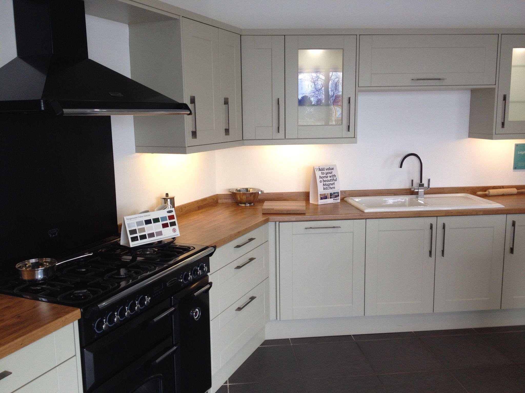 Leighton Grey Kitchen from Magnet | mutfak | Pinterest | Gray ...