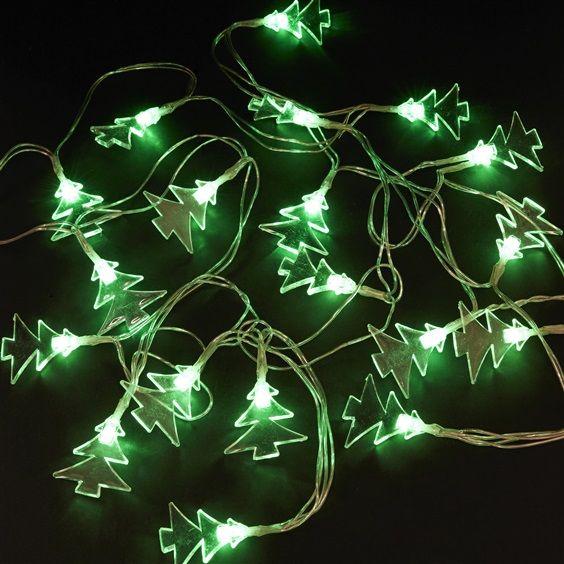 Amazing Primark Homeware Green Christmas Tree Fairy Lights
