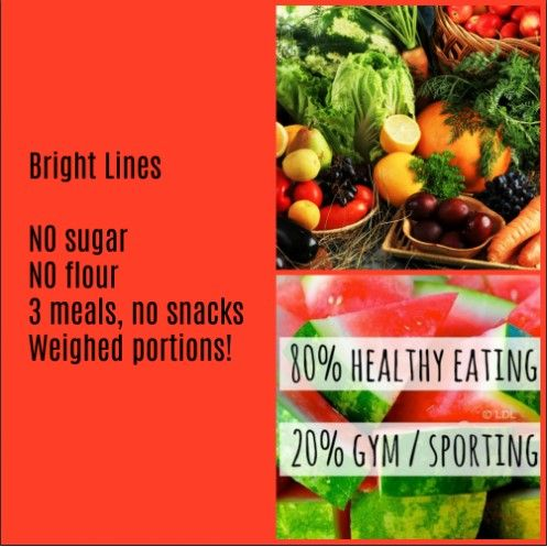 Pin On Bright Line Eating