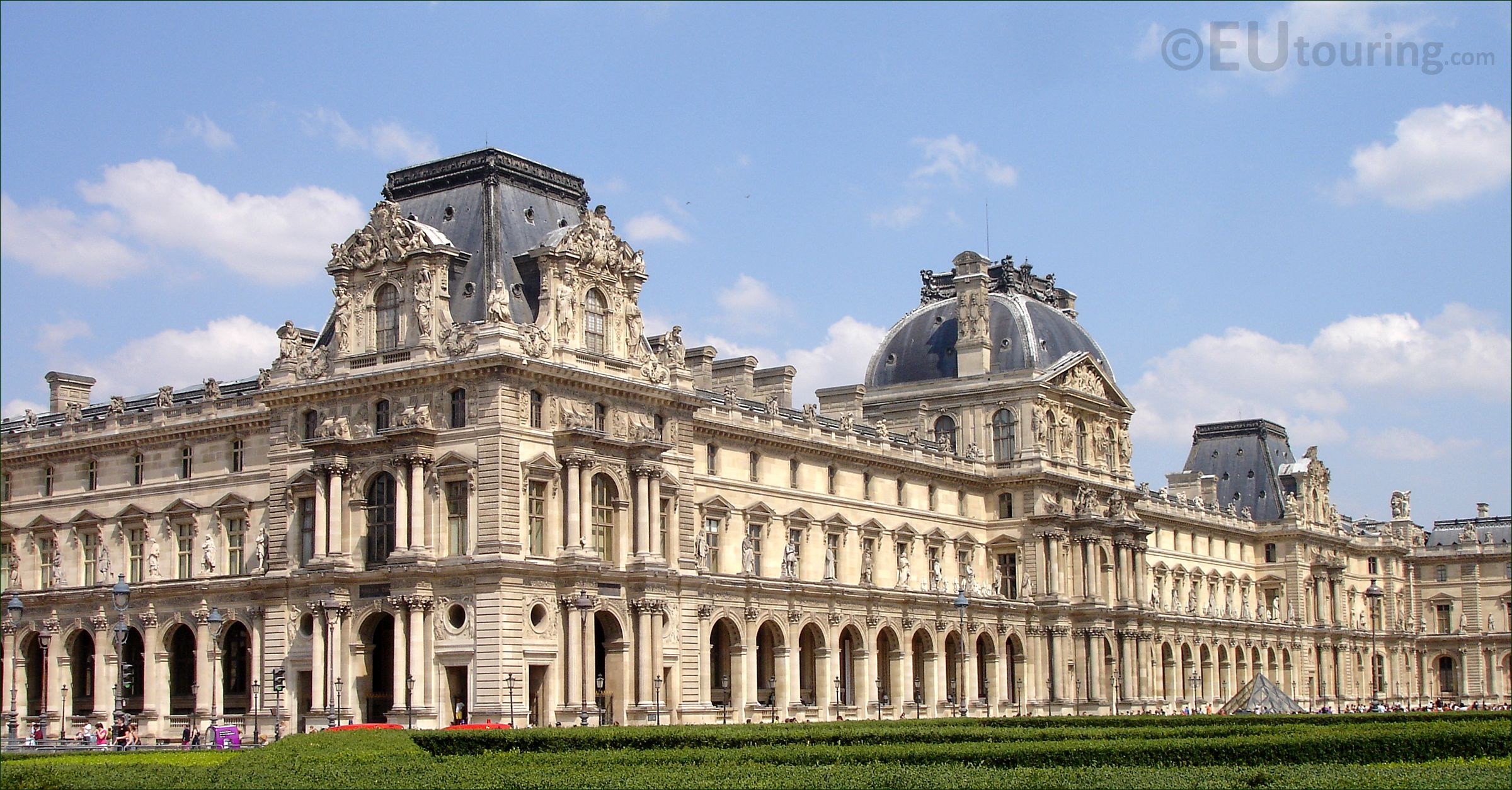 Wing Of Louvre Presidential Palaces Palace Museum Architecture