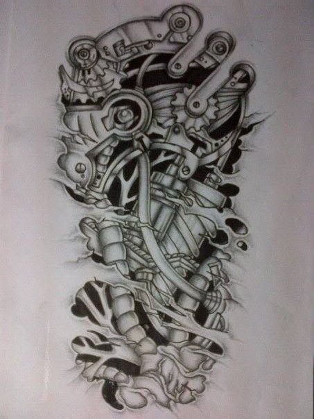 Biomechanical Tattoo Line Drawing : Https google blank tattoos pinterest